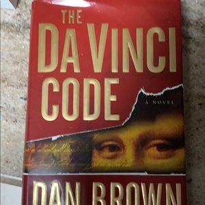 Hard covered 'The Da Vinci Code'